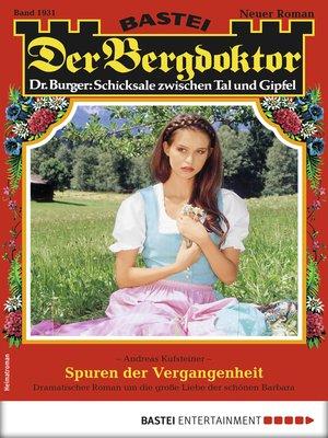 cover image of Der Bergdoktor 1931--Heimatroman