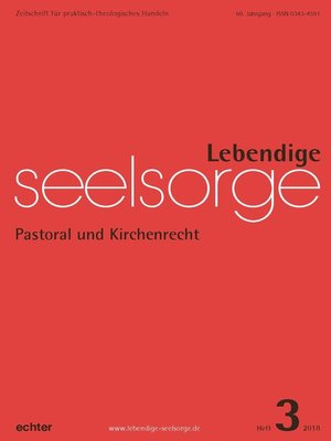 cover image of Lebendige Seelsorge 3/2018