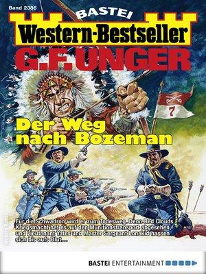 cover image of G. F. Unger Western-Bestseller 2386--Western