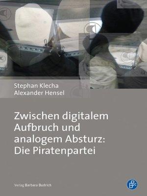 cover image of Zwischen digitalem Aufbruch und analogem Absturz