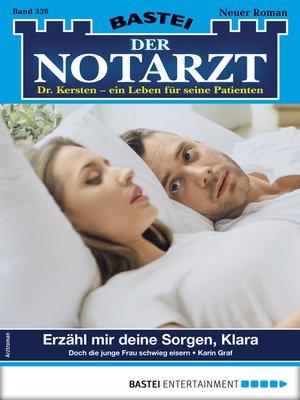 cover image of Der Notarzt 339--Arztroman