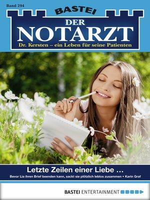 cover image of Der Notarzt--Folge 294