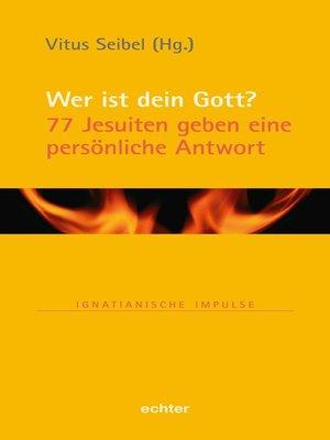 cover image of Wer ist dein Gott?