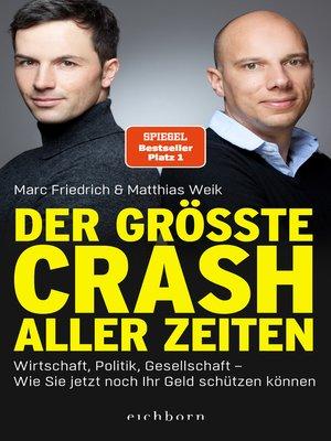cover image of Der größte Crash aller Zeiten