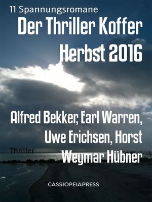 cover image of Der Thriller Koffer Herbst 2016