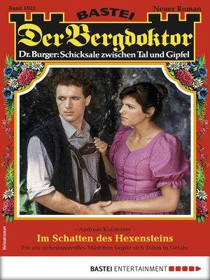 cover image of Der Bergdoktor 1922--Heimatroman