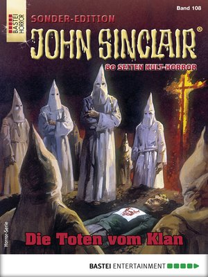 cover image of John Sinclair Sonder-Edition 108--Horror-Serie