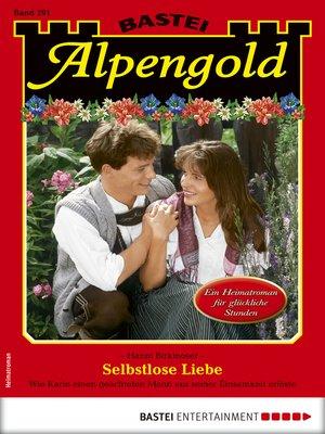cover image of Alpengold 291--Heimatroman