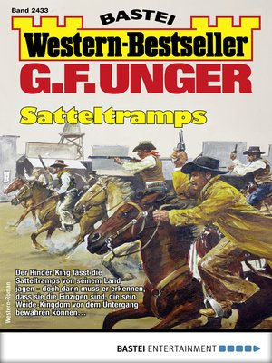 cover image of G. F. Unger Western-Bestseller 2433--Western