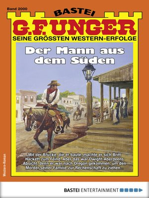 cover image of G. F. Unger 2000--Western