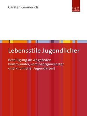 cover image of Lebensstile Jugendlicher