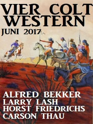 cover image of Vier Colt Western Juni 2017