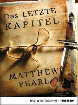 cover image of Das letzte Kapitel