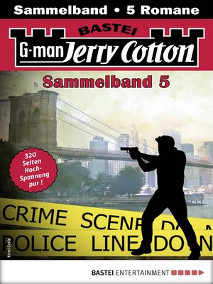 cover image of Jerry Cotton Sammelband 5--Krimi-Serie