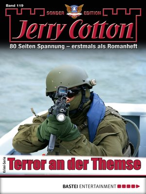 cover image of Jerry Cotton Sonder-Edition 119--Krimi-Serie