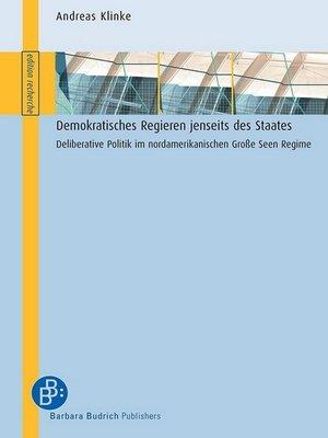 cover image of Demokratisches Regieren jenseits des Staates