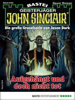 cover image of John Sinclair 2105--Horror-Serie