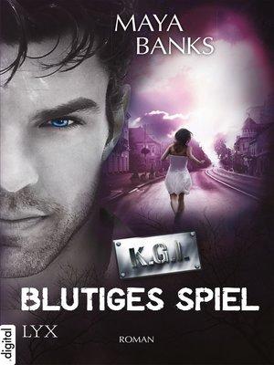 cover image of KGI--Blutiges Spiel