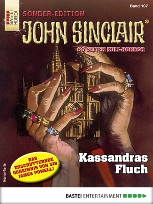 cover image of John Sinclair Sonder-Edition 107--Horror-Serie