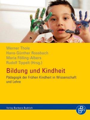 cover image of Bildung und Kindheit
