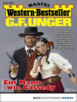 cover image of G. F. Unger Western-Bestseller 2358--Western