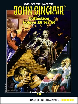 cover image of John Sinclair Collection 10--Horror-Serie