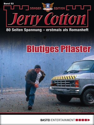 cover image of Jerry Cotton Sonder-Edition--Folge 53