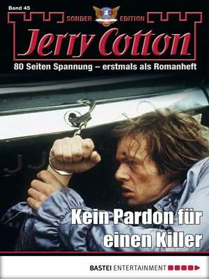 cover image of Jerry Cotton Sonder-Edition--Folge 45