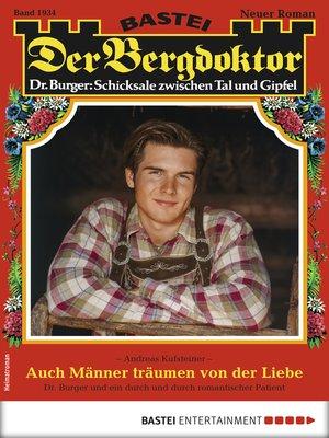 cover image of Der Bergdoktor 1934--Heimatroman