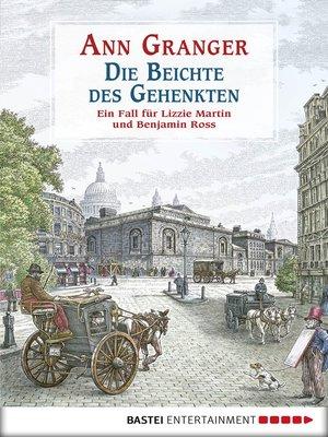 cover image of Die Beichte des Gehenkten