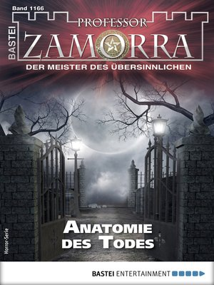 cover image of Professor Zamorra 1166--Horror-Serie