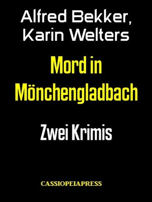 cover image of Mord in Mönchengladbach