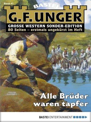 cover image of G. F. Unger Sonder-Edition--Folge 041