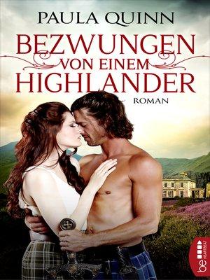 cover image of Bezwungen von einem Highlander