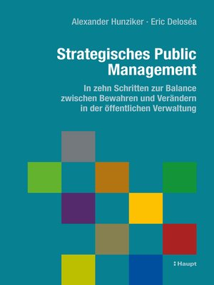 cover image of Strategisches Public Management