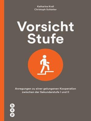 cover image of Vorsicht Stufe (E-Book)