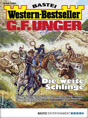 cover image of G. F. Unger Western-Bestseller 2388--Western