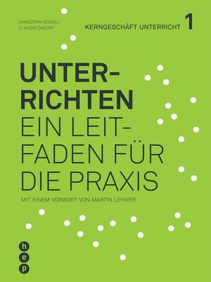 cover image of Unterrichten (E-Book)