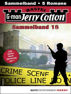 cover image of Jerry Cotton Sammelband 18--Krimi-Serie