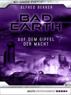 cover image of Bad Earth 20--Science-Fiction-Serie