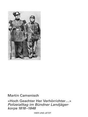 """cover image of """" Hoch Geachter Her Verhörrichter ..."""""""