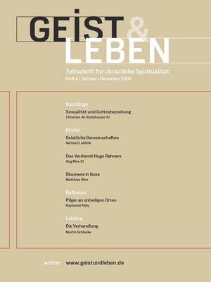cover image of Geist & Leben 4/2018