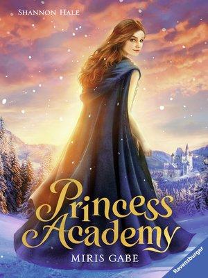 cover image of Princess Academy, Band 1