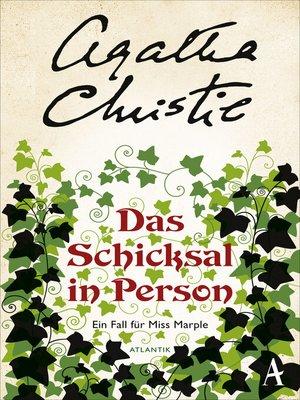 cover image of Das Schicksal in Person