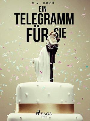 cover image of Ein Telegramm für Sie