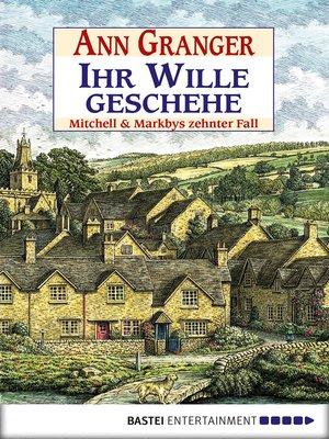 cover image of Ihr Wille geschehe