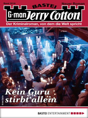 cover image of Jerry Cotton 3218--Krimi-Serie