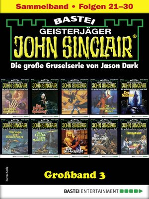 cover image of John Sinclair Großband 3--Horror-Serie