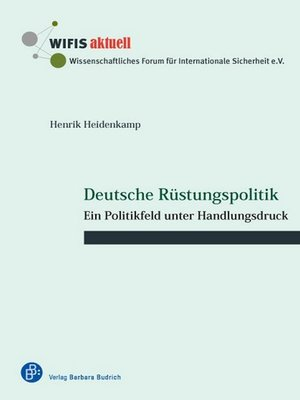 cover image of Deutsche Rüstungspolitik