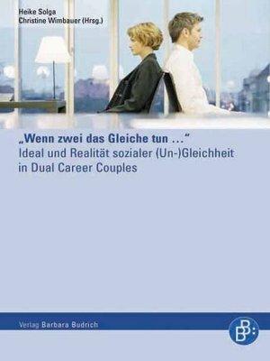 "cover image of ""Wenn zwei das Gleiche tun..."""